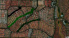 Лас-Вегас, Невада, США. Вражаючі супутникові знімки про те, як ми змінили Землю