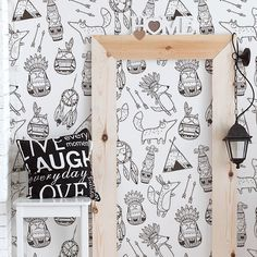 Free Shipping!! Awesome self-adhesive temporary wallpaper, easy to use! Just peel & stick it, then love it!