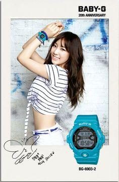 SNSD Taeyeon Casio Baby-G 2014