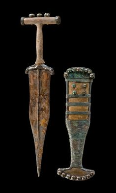 Hallstatt sword. From  the Magdalenenberg, Iron Age, 6th century B.C. Archaeological Museum of Fribourg. Foto: M. Schreiner