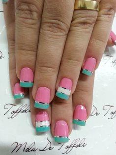 Perfecto si vas a ir a la playa este puente #nail #nails #nailart