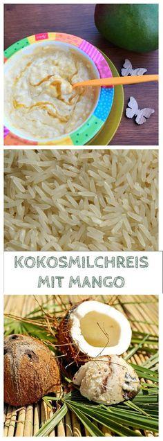 Kokosmilchreis mit Mango ist ein erfrischender Babybrei, der aber auch der ganzen Familie schmeckt. Das Rezept für diesen Milchreis ist vegan und schmeckt nicht nur im Sommer herrlich tropisch und frisch: http://www.breirezept.de/rezept_kokosmilchreis_mit_mango.html