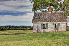 Historic Properties for Sale - Gently Rolling Pasture with Historical Estate and Cottage - Charlottesville, VA Area