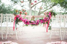 Wedding Trends: Floral Garlands and Wreaths