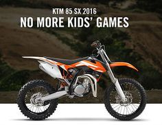 2016 KTM 85 SX Motocross in Cars, Motorcycles & Vehicles, Motorcycles & Scooters, KTM | eBay