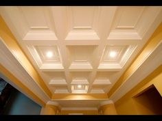 Tilton Box-Beam Coffered Ceiling System | QUICK & EASY INSTALL - YouTube