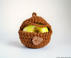 Brown Apple Cozy Fruit Cozy