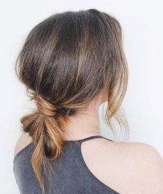 work hairstyles for long hair ; work hairstyles for long hair easy ; work hairstyles for long hair quick Low Ponytail Hairstyles, Knot Ponytail, Easy Hairstyles For Medium Hair, Hair Knot, Quick Hairstyles, Hairstyles For Working Out, Hairstyles For Nurses, Easy Professional Hairstyles, Business Casual Hairstyles