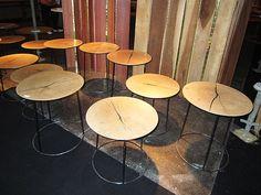 #tavolini legno/metallo #valterpisati #arredo milano