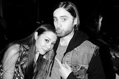 China Chow and Jared Leto #2