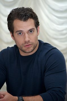 Henry Cavill at The Man From U.N.C.L.E. Press Conference at Claridge's Hotel on July 23, 2015 in London, England.