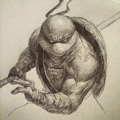 Teenage Mutant Ninja Turtles - Donatello by Dave Rapoza *