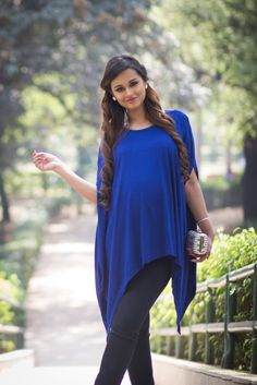 930888340f151 Buy Momzjoy Free Size Deep Blue Maternity Poncho online. Nursing WearNursing  ...