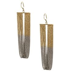 Marie-Laure Chamorel  2-Tone Earrings