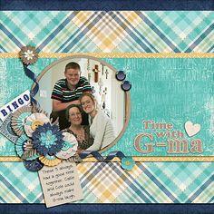 Time With G-ma - Scrapbook.com