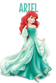 Ariel proves that Princess love to bend the rules. Perhaps it is because she is a Redhead :)
