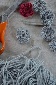i love this...: Crochet Flower Tutorial