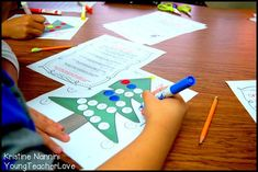 Christmas Math Centers and Activities - Let your upper elementary students have fun this holiday season with the great ideas included at this blog post. Make the most of your last days before winter break with the ideas for your 4th, 5th, and 6th grade students included here. Work on fractions, decimals, measurement, order of operations, and more. {fourth, fifth, sixth graders, December, winter} #YoungTeacherLove #ChristmasMathCenters