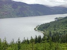 Lock Ness Lake,  where that famous monster lives. ;)