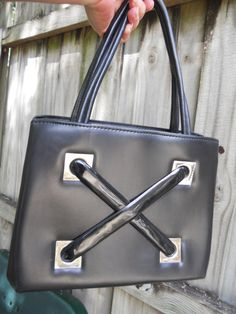 Large Vintage Handbag Purse by ShastaVintage on Etsy, $40.00