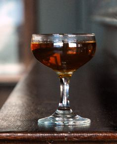The Beauty Spot | SAVEUR - 2 oz. gin 1 oz. red vermouth ½ oz. green chartreuse