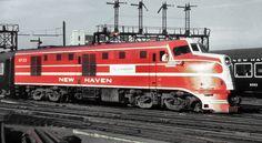 New Haven Railroad DER-1b DL-109 (The Cranberry) locomotive # 0722 --- USA