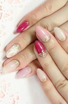 Pretty In Pink Nail Designs.