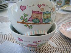 Bowls línea Buhos de Art Home designs