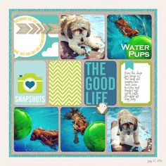 Layout by Jenn McCabe using Project Life® Digital Template Design K