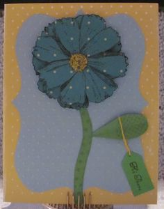 I just listed Hi There Flower A2 Handmade greeting card on The CraftStar @TheCraftStar #uniquegifts