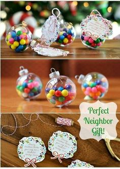 Bubblegum Ornaments