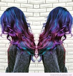 Perfect galaxy hair colors                                                                                                                                                      More