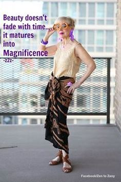 We are merely maturing into magnificence!