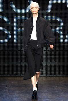 #DKNY #FW2015_16 #trends#tail #blackAndWhite #Catwalk #NYFW #NewYork