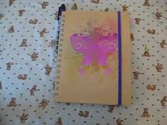 To Do List Junk Journal .   I just wanted a book to write as I think things instead of lists stuck to the fridge door! Check out the video!