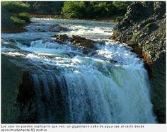 El Salto del Agrio, Copahue, Argentina....mi piacerebbe fare il bagno in questo posto
