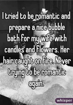 Whisper App. Confessions on failing at romance.