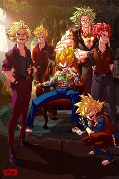 Thug Life by raging-akujiki on DeviantArt <--- That's definitely one of the most awesome DB-pictures I've ever seen!!