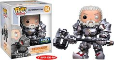 Your favorite characters from Blizzard Entertainment's Overwatch get the Pop! This Overwatch Pop! Vinyl Figure features Reinhardt as an adorable stylized figure. Standing about tall, this Overwatch Reinhardt Pop! Overwatch Pop, Figurines D'action, Figurines Funko Pop, Pop Figurine, Funko Figures, Pop Vinyl Figures, Vinyl Toys, Funko Pop Vinyl, Wii U