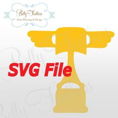 Disney Cars Piston Cup SVG File {Use with Various Cutting Machines: Cricut, Silhouette, etc}