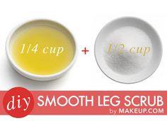 The Ultimate Smooth Leg Scrub