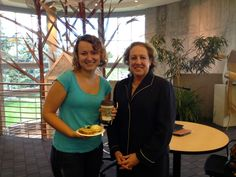 Thanks to Colorado Community College System (CCCS) President Nancy McCallin, Ph.D., for coming to #ArapahoeCC on Tuesday morning, Sept. 15, 2015, to share great conversation and delicious pastries with the ACC community.  Dr. McCallin (right) is pictured with ACC student and Parker resident Shelby Johnson.