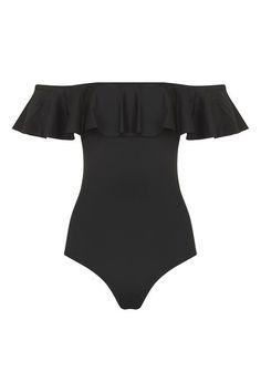 Frill Bardot Swimsuit