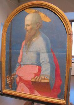 Domenico Beccafumi - Cataletto per defunti di una compagnia: San Galgano - Pinacoteca Nazionale, Siena