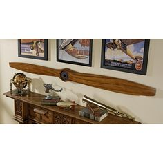 Airplane Propeller Wall Decor please note: this item usually ships in 1-2 weeks. please contact