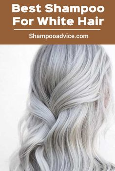it is important to know about the exclusive white hair shampoos available in the market. Here, I have put together a list of shampoos that add shine to lackluster white hair. Best Shampoos, Hair Shampoo, Pick One, White Hair, Long Hair Styles, Beauty, Long Hairstyle, Long Haircuts, Long Hair Cuts