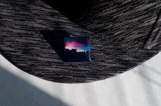 CITY SUNSET Resin Hat Pin  ft. Original Denver by RosstaCreations