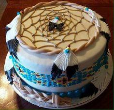 Indian decorated wedding cake