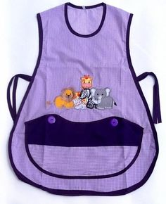 modelos de mandiles - Buscar con Google Craft Organization, Sewing For Kids, Little Ones, Apron, Projects To Try, Nursery, Children, Diy, Google