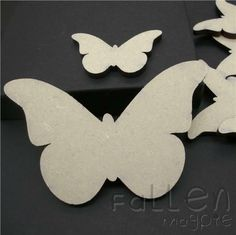 Wooden Butterfly Shapes Embellishments Craft Wood MDF Tags Blanks Various Sizes Butterfly Shape, Butterfly Painting, Wood Crafts, Crafts To Do, Embellishments, Wooden Garden, Shapes, Garden Ornaments, Fabric Flowers